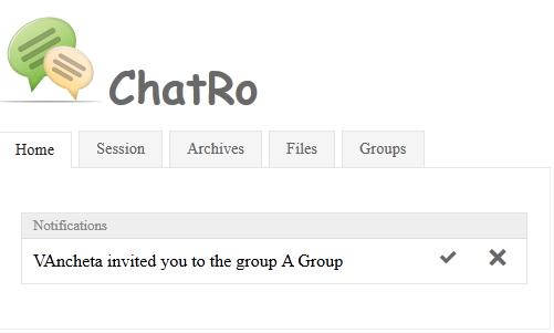 Chatro users